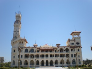 king farouq palace from the back view